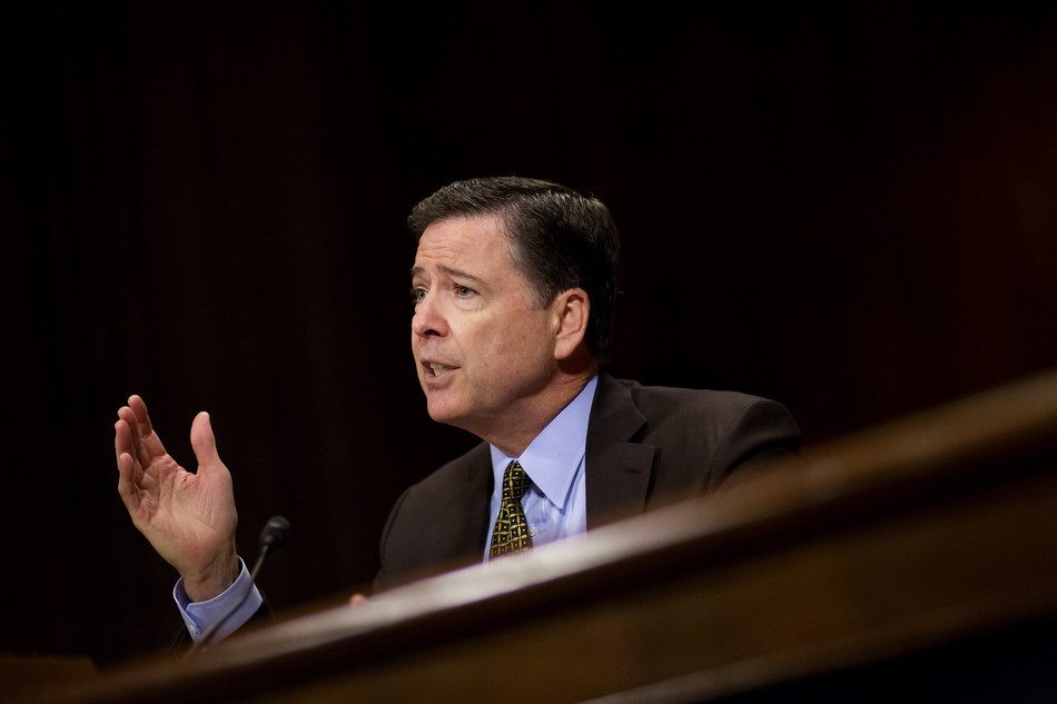 a quick comey ridealong thought