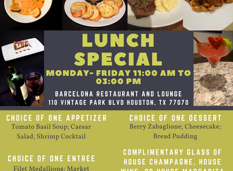 Lunch Special at Barcelona!