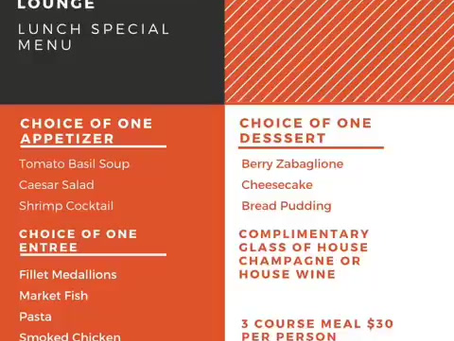 Lunch Special!