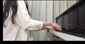 オンラインレッスンで弾きたい曲を弾きましょう♪