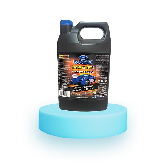 SHAMPOO CAR WASH & WAX gl