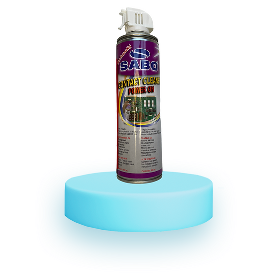 CONTACT CLEANER POWER ON 590ml - 20 Oz.