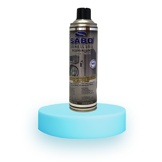 STAINLESS STEEL AND ALUMINUM CLEANER 590ml