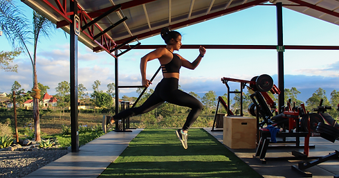 Raw Outdoor Fitness Girl Power