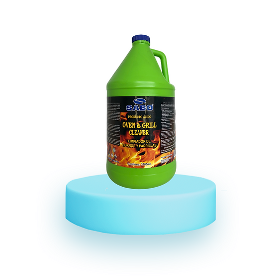 OVEN & GRILL CLEANER Galón Limpiador de hornos y parrillas