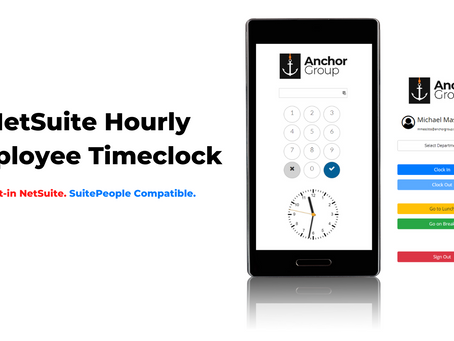 Employee Time Clock for NetSuite and SuitePeople