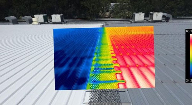 Shopping Centers and other mechanically cooled buildings can directly measure the benefits of SkyCool through HVAC energy savings.
