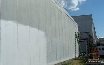 Meat processing plants have applied SkyCool heat reflective paint to their roof to save energy.