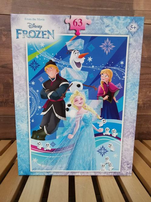 Puzzle frozen 63 pièces ( 1796 D13 )