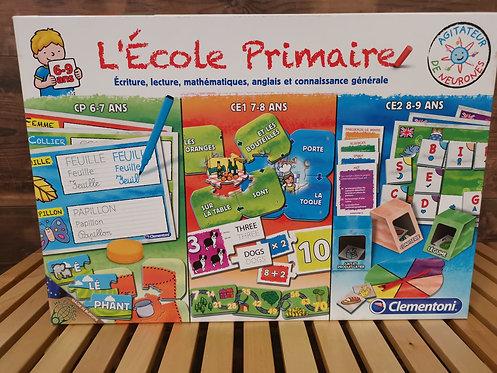 Jeu d'apprentissage L'école primaire