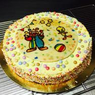 Gâteau chocolat blanc pour enfants