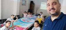 M. Hammouda et ses élèves