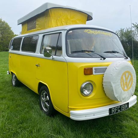 Saffron our fun and funky camper!