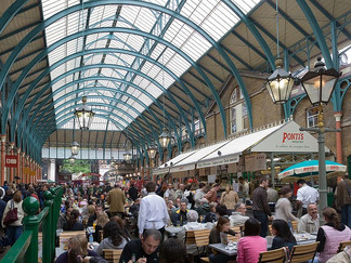 COVENT GARDEN WILL TURN INTO GIANT OUTDOOR DINING HUB