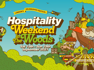 DRUM & BASS EVENTS: HOSPITALITY IN THE WOODS
