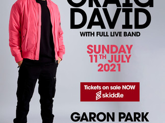 CRAID DAVID CONCERT WITH FULL LIVE BAND