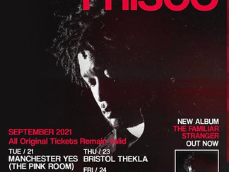 FRISCO ANNOUNCES UK TOUR