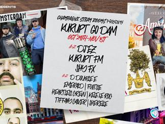 KURUPT FM GO DAM - AMSTERDAM WEEKENDER