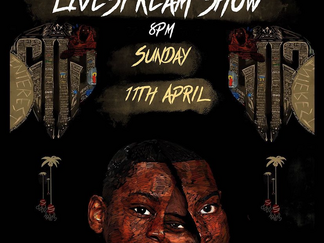 GHETTS LIVE STREAM SHOW SUNDAY 11TH APRIL