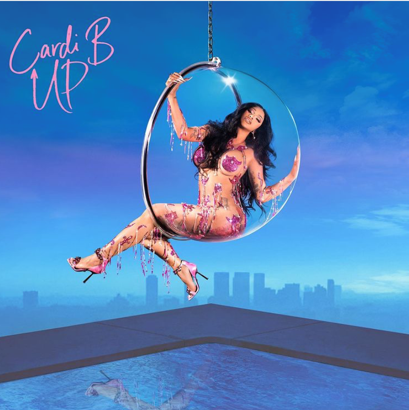 Cardi B Single Cover for 'Up'