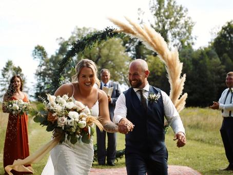 Cory + Danielle // Southern Ontario Wedding