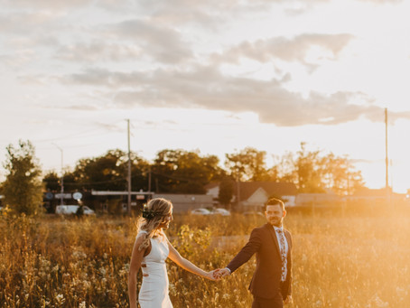 Brenton + Stephanie // Cambridge, Ontario Wedding