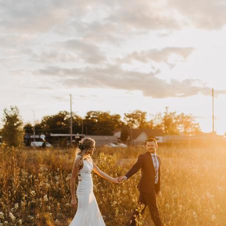 Brenton + Stephanie // Cambridge, Ontario Wedding