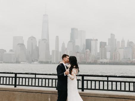 Nick + Jackie  //  Hoboken Waterfront Wedding