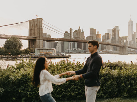 Seth + Kathrine // Brooklyn, New York Engagements