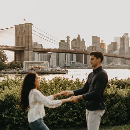 Seth + Kathrine // Brooklyn, New York Engagements