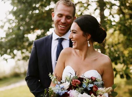 Kristopher + Christina // Intimate Sarnia Wedding