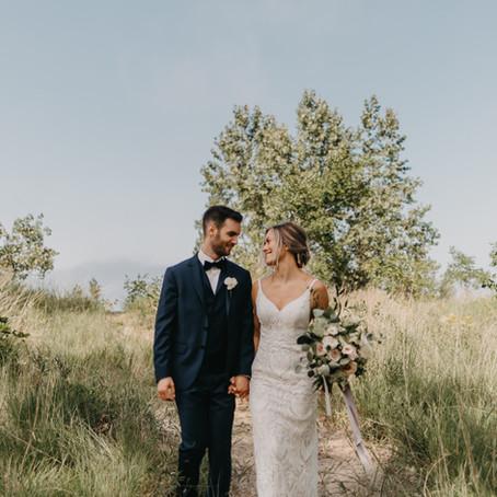 Spencer + Emily // Sarnia Ontario Wedding