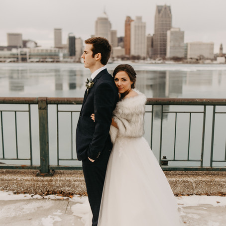 Blake + Rachel  //  Ontario Winter Wedding