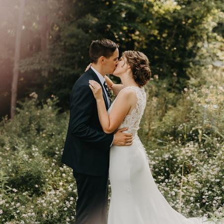 Amos + Kelsey  //  Michigan Wedding