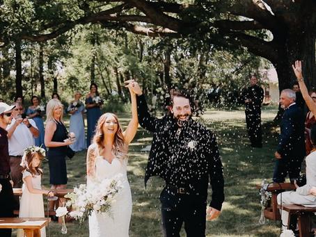 Chad + Caralee // Stag Island Wedding