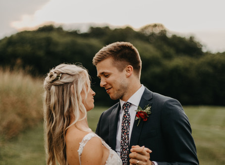 Andrew + Caitlyn  //  Lancaster Pennsylvania Wedding