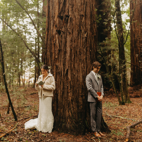 Ian + Ana | California Redwoods Wedding
