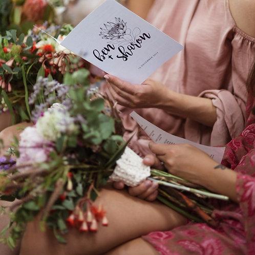 Sharon Bouquet Wrap