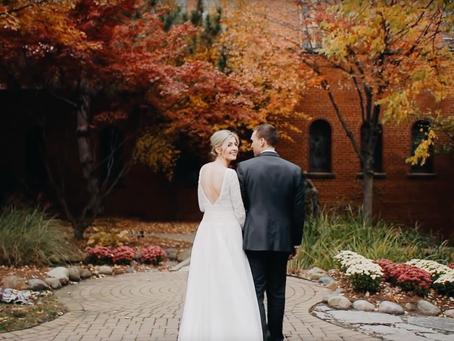Kyle + Jill  //  Autumn Michigan Wedding