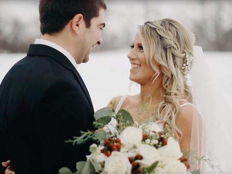 Sean + Lauren  //  Kincardine Winter Wedding