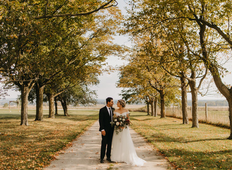 Jonathan + Megan //  Backyard Farm Wedding