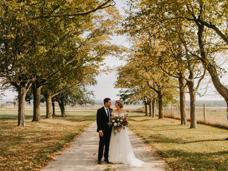 Jonathan + Megan //  Backyard Farm Wedding