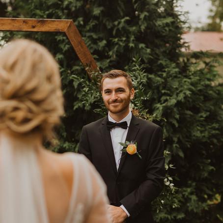 Arie + Rebekah // Intimate Georgetown Wedding