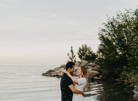 Matthew + Olivia // Scarborough Bluffs Engagement