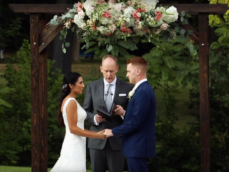 Kaleb + Samie //  Pearl River Wedding