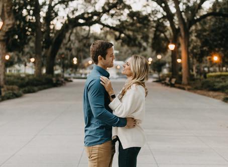 Mitchel + Marissa  //  Savannah Couple Portraits