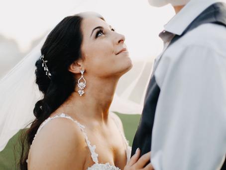 Devon + Jessica  //  Backyard Ontario Wedding