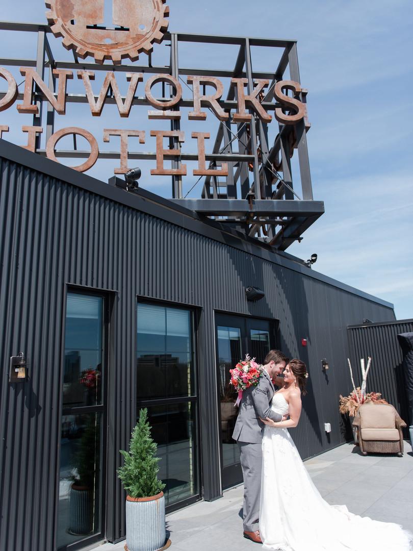 Ironworks embrace