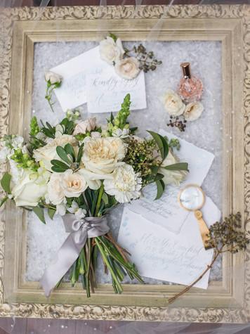 Bridal bouquet- White