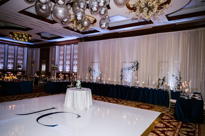Head table - wedding party